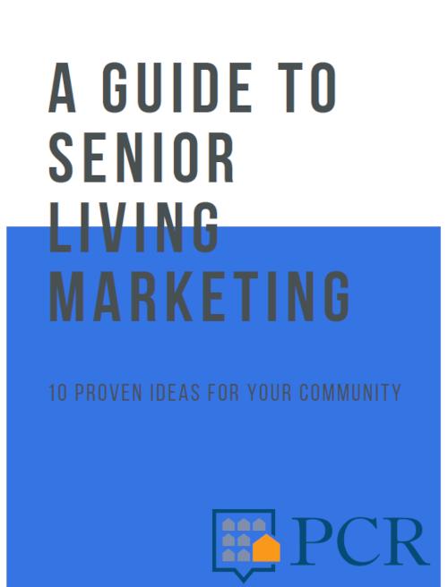 Senior Living Marketing Guide Cover Image